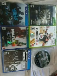 Ps4 & Xbox 360 games  Redding, 96001