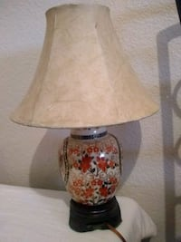 brown and white table lamp Golden Valley, 86413