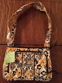 "Vera Bradley Little Hipster Crossbody ""Go Wild"" retired pattern NWT"