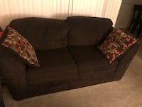 black fabric 2-seat sofa Silver Spring, 20906