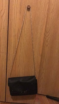 brown leather crossbody bag with fringe Chicago, 60653