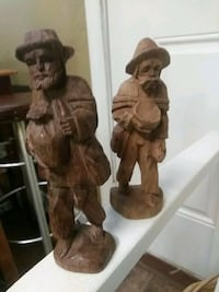 Two Hand carved wooden Figurines  Richmond, 23225