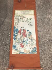 Oriental wall hanging  Temple, 76504