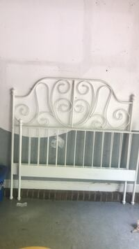 white wooden headboard and footboard Maiden, 28650