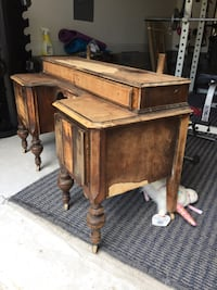 Antique Wooden Vanity