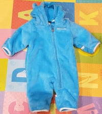 Columbia bunting jacket 0-3 months
