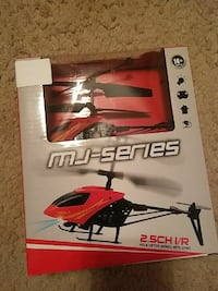 MJ Series RC Helicopter (Red)