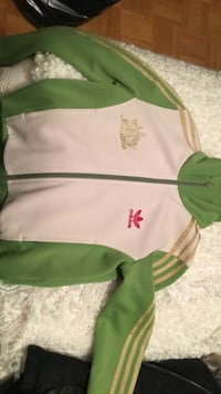 Special edition adidas zip up- women's size small Toronto, M6K 1G6