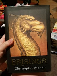 Brisingr by Christopher Paolini book Laval, H7K 3C1