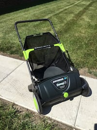 Earthwise LSW70021 21-inch Push Lawn Sweeper Removable 2.6 Bushel Collection Bag Arlington Heights, 60004