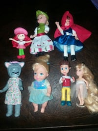 $6 for all Assorted 3 and 4 inch dolls Orange, 92867