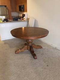 Pottery barn table with leaf HERNDON