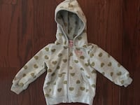 Juicy Couture baby girl hoodie 12-18 mos EUC worn once  Toronto, M9P 1P7