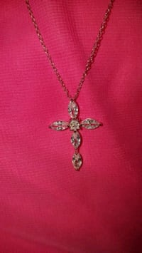 925 silver necklace with cross pendant Louisville, 40216
