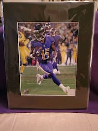Marquise Brown 8x10 license photo  Baltimore, 21206