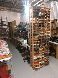 Shoes men's women's and kids $1-$5 each