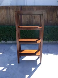 Nice Brown Wooden Book Shelf