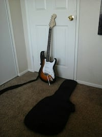 brown white and black electric guitar Palmdale, 93551