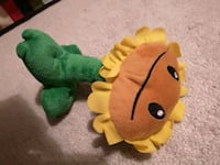 green and yellow frog plush toy Toronto, M3A