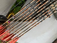 assorted color fishing rod lot Moyock, 27958