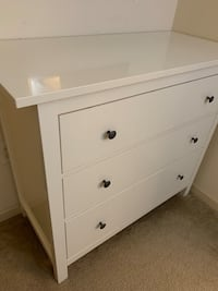 White Dresser and Night Table Fairfax, 22030