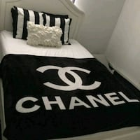 chanel fleece blanket Houston, 77092