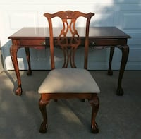 Cherry wood desk with chair  Yukon, 73099