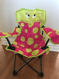 NEW EDDIE BAUER Girls Fold n Go Fun Chair Virginia Beach, 23456