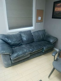 Leather couch/furniture