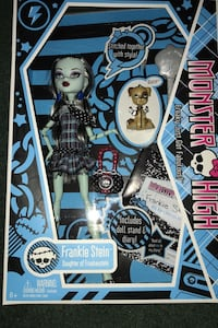 Monster High Frankie Stein NIB ~ excellent condition