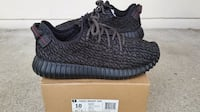pair of pirate black Adidas Yeezy Boost 350 with b Winnipeg
