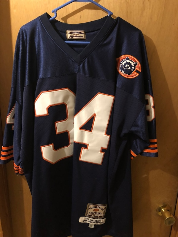 outlet store f2c4b e928d Vintage Walter Payton Bears Jersey