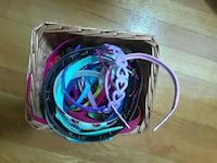 Basket of kids headbands and hair accessories. Fairfax, 22030