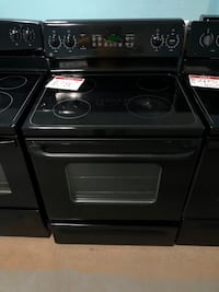 GE Glass top black electric stove Reisterstown, 21136