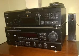 Excellent sound system: Stereo radio & CD player + speakers