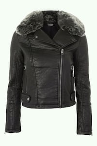 BNWT BIKER JACKET(REMOVABLE FUR) Toronto, M5B 2H5