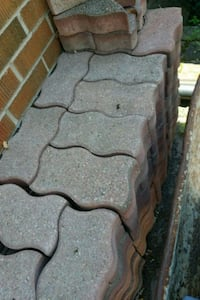 Free interlocking/patio stones Toronto, M6S 2H3