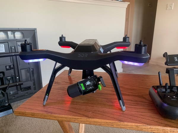 3DR Solo Quadcopter Bundle with Gimbal, Backpack, 4 Batteries, and 10  Propellers