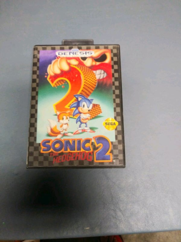 Sonic 2 The Hedgehog Sega Genesis 0