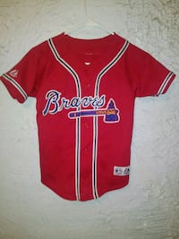 red and white Adidas jersey shirt El Paso, 79912