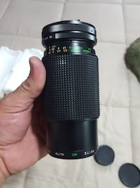 Deitz compact automatic zoom lens for cannon