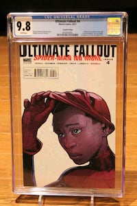 Ultimate Fallout #4 2nd Print CGC 9.8 Mississauga, L5N 7V4