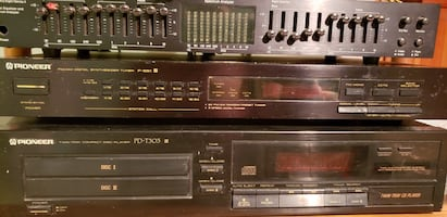Pioneer Twin Tray CD Player PD-T 303