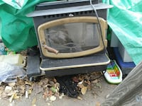 black and gray CRT TV Citrus Heights, 95621