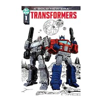 IDW TRANSFORMERS #1 METAL Cover exclusive number 10/750 Fan Expo Canada Toronto