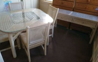 Indoor Wicker Dining Set- Delivery Available
