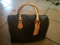Borsa in pelle nera e marrone Lurate Caccivio, 22075