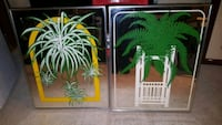 2 Mirror Pictures 22 × 28 ($15 for both) West Orange, 07052