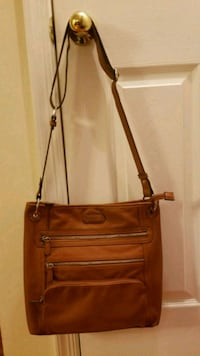 brown leather 2-way handbag Leesburg, 20175