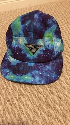 Galaxy printed fitted cap